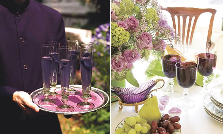 Purple Wedding Inspiration - Bella Mera Bridal - Bella Mera Bridal ...
