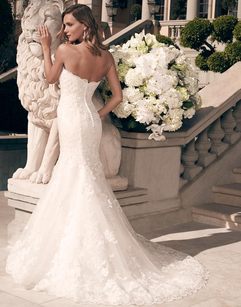 New Casablanca Bridal Gowns Arrivals! Casablanca Bridal Style 2163 ...