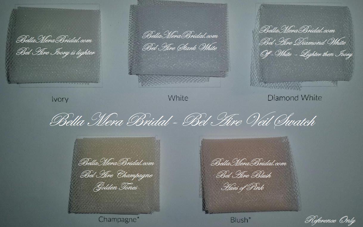 Bel Aire Bridal Veil Swatch - Bridal Veils, Wedding Veils