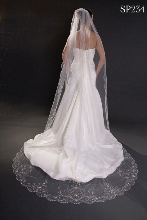 Giselle Bridals Wedding Veils SP234